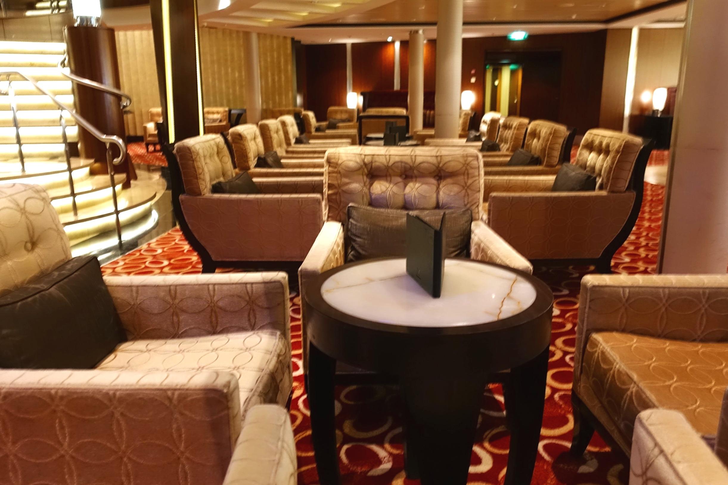 Passport bar seating