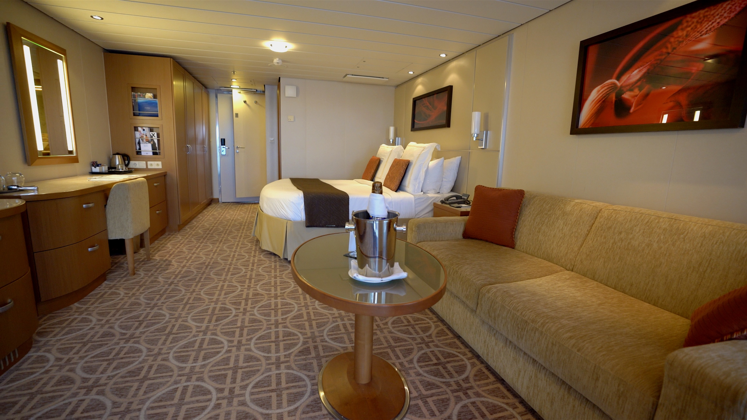 A spacious entry level Sky suite