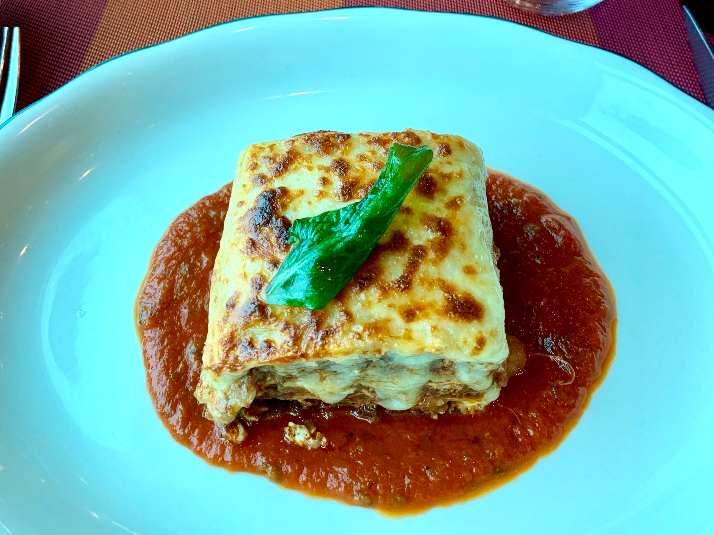 Gorgeous Italian food.