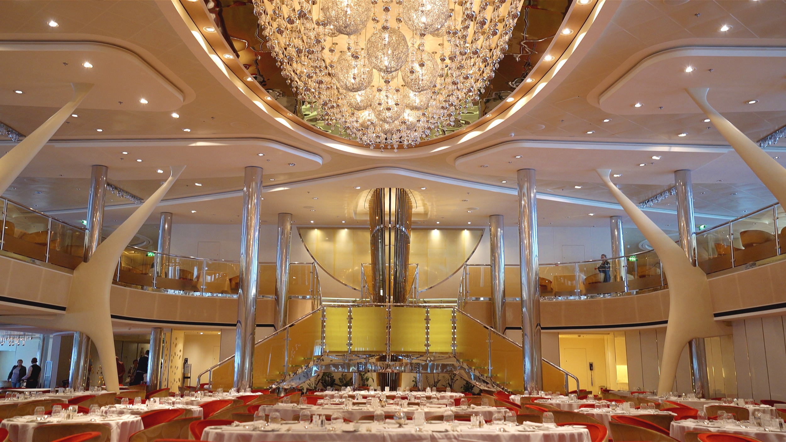 The Grand Cuvee dining room.