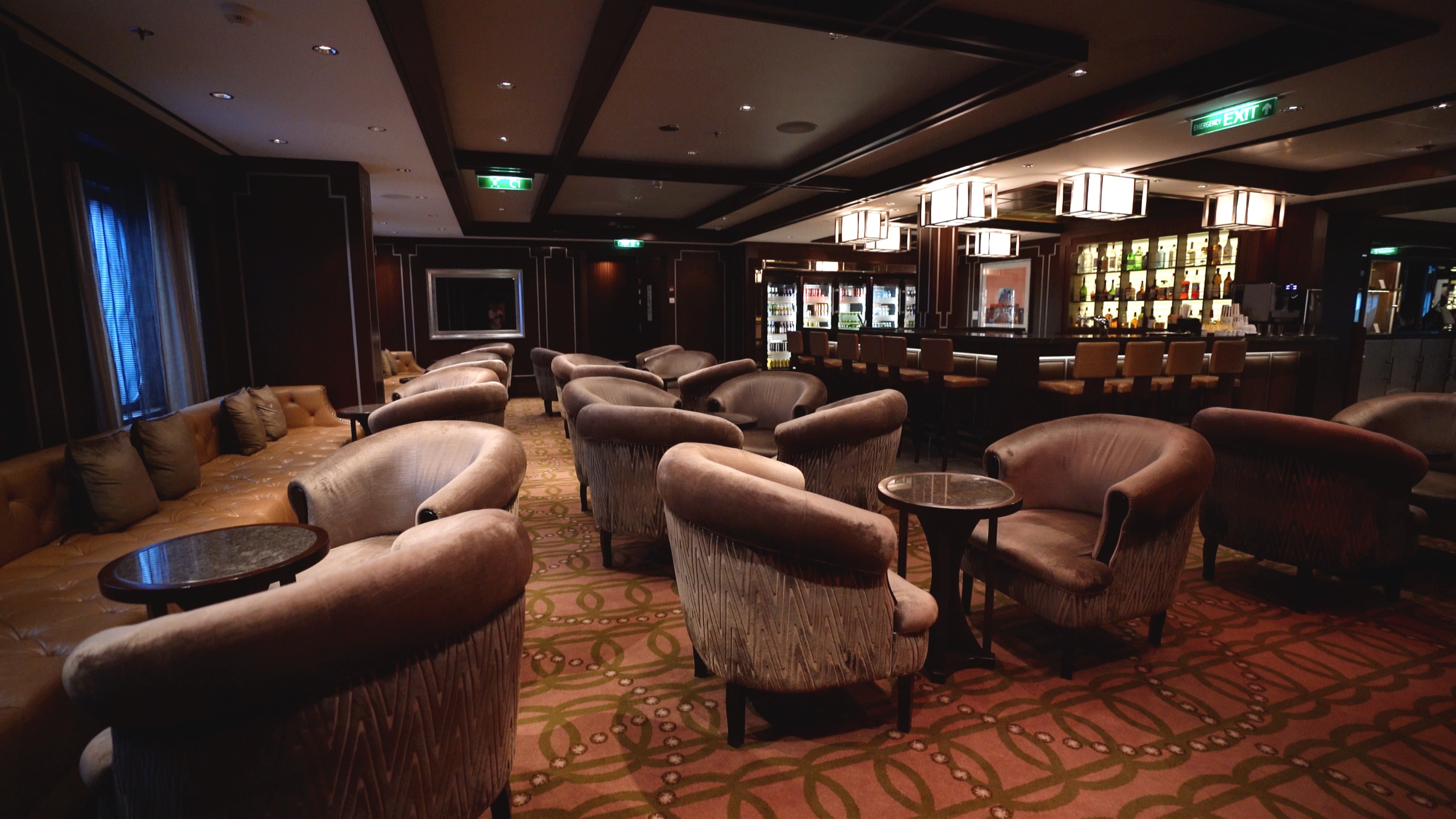 Michaels club suite lounge and bar