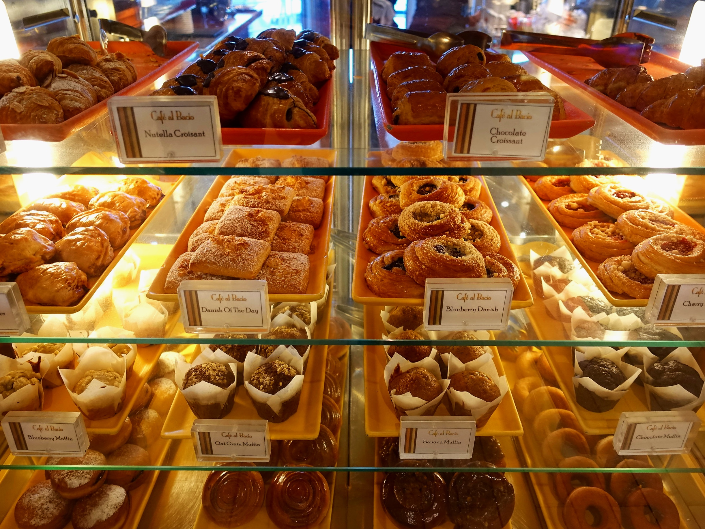 Yummy cakes and pastries