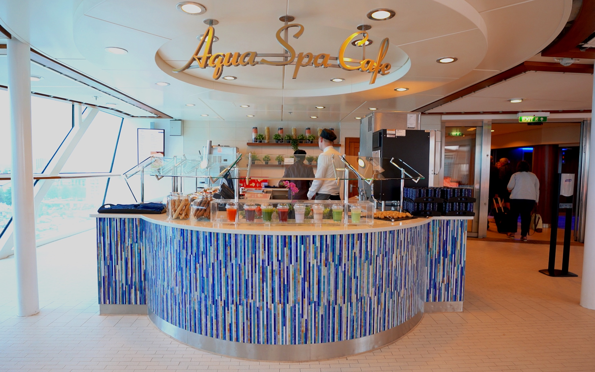 The Aqua Spa cafe