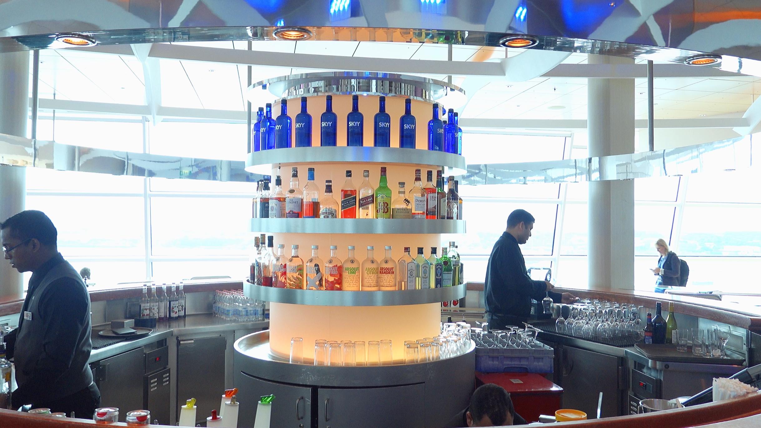 The wonderful circular bar.