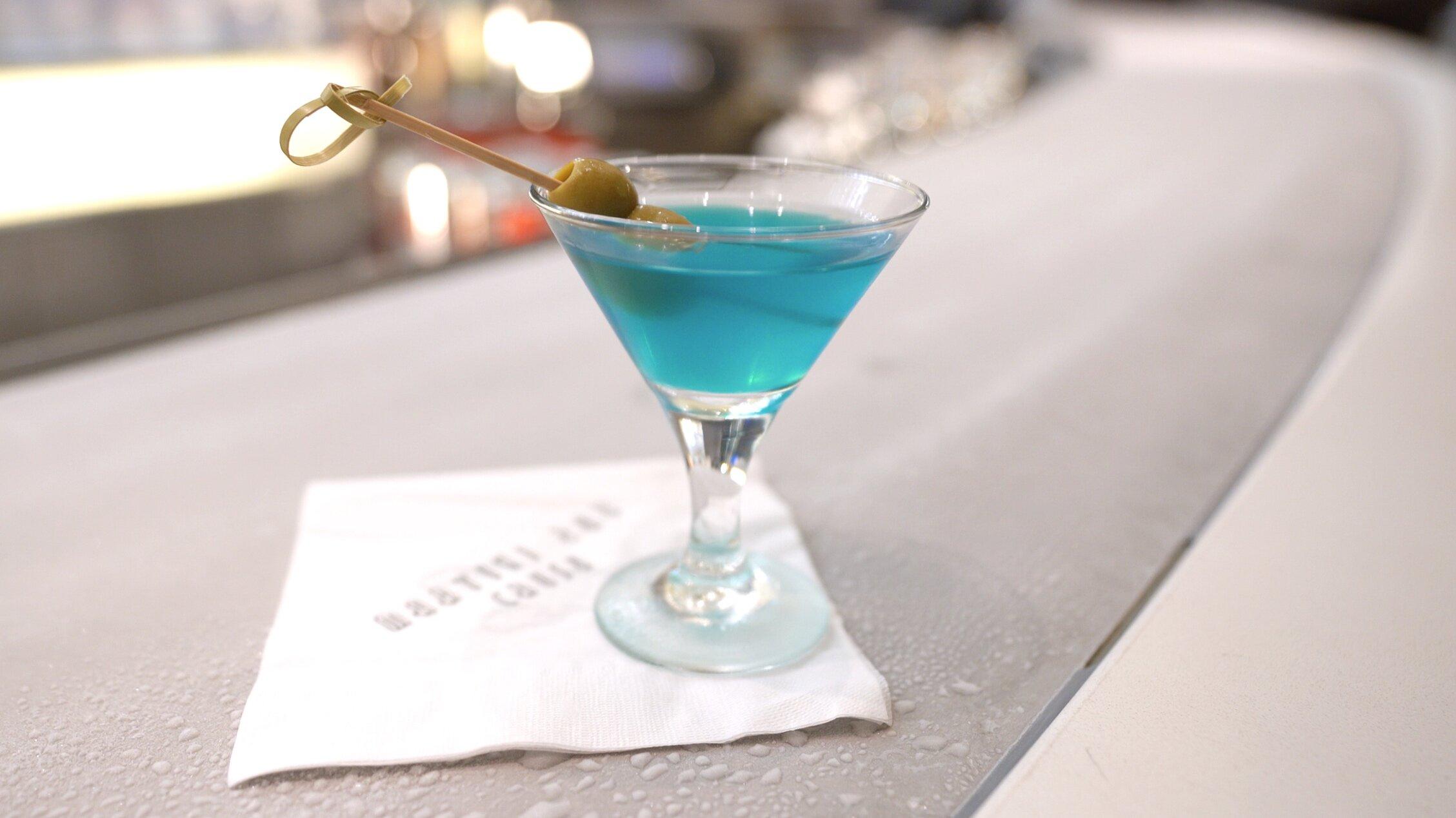 Martini on ice.