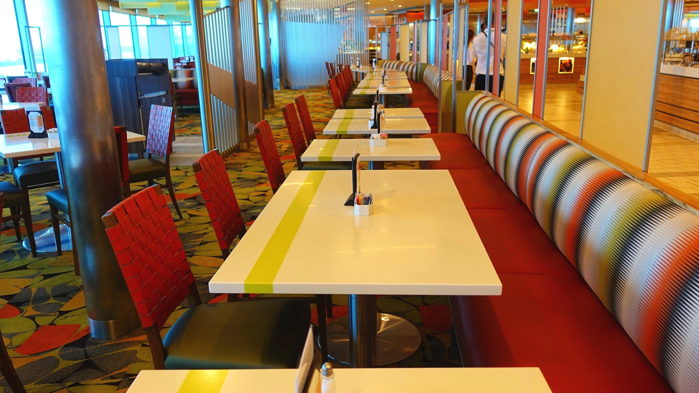 Oceanview seating