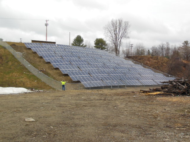 Cavendish Solar Array off of Power Plant Rd in Cavendish, VT