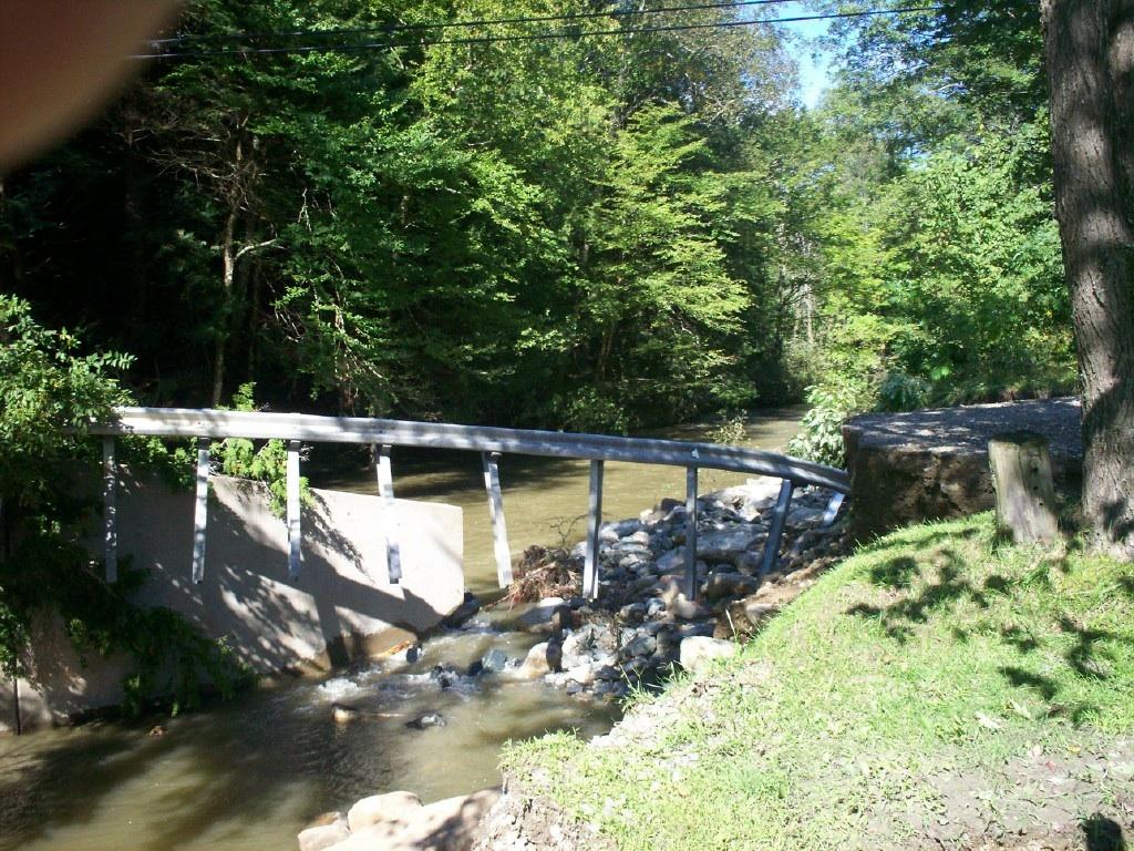 Damage to Heald Rd Bridge, Proctorsville