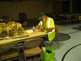 Rich Svec during Irene Recovery.