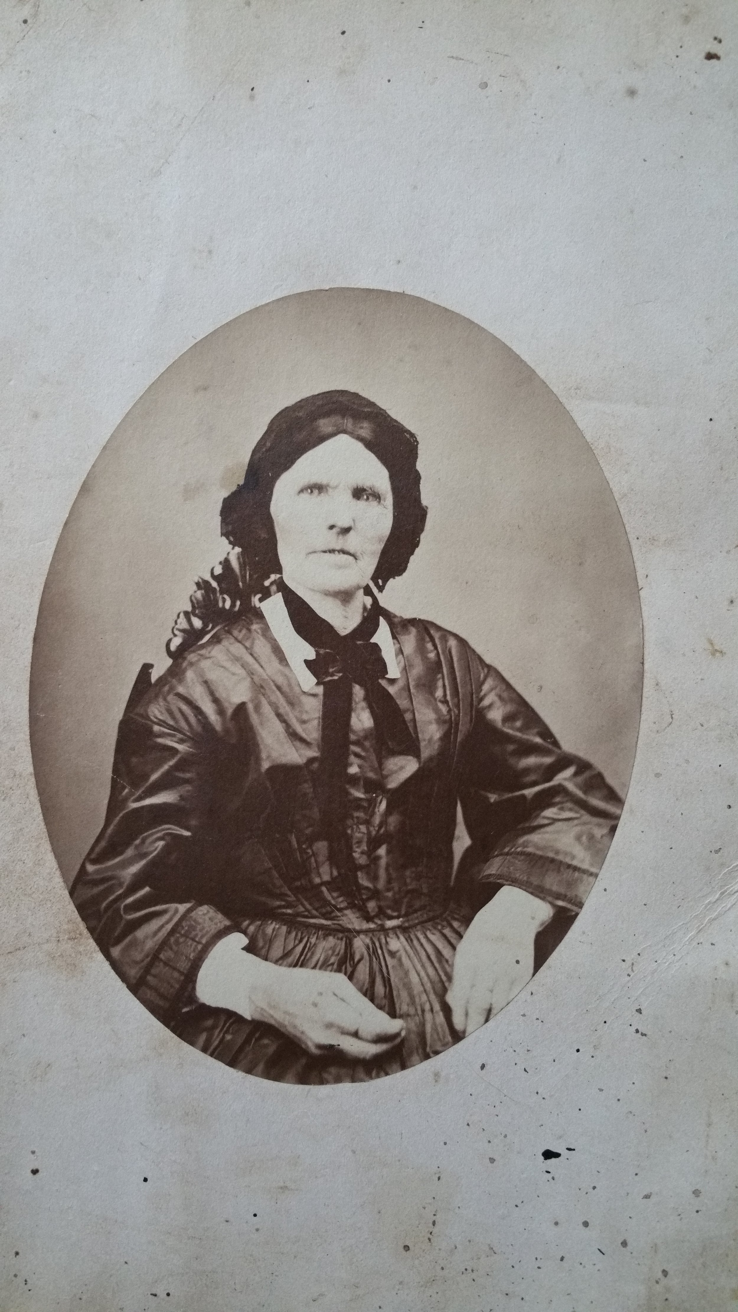 Gratia Denny's Grandmother, an Abenaki who spoke Algonquin. Gratia, named for her grandmother, lived in Cavendish for many years on Main St.