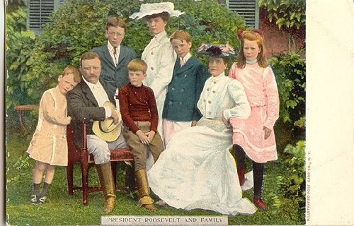 """Ethel Roosevelt Derby, daughter of Theodore Roosevelt-on the far right in the photograph-made Cavendish her summer home. She is featured in the Cavendish Historical Society's series """"Cavendish Women You Should Know."""""""