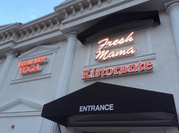 The front facade of Vegas Hot!