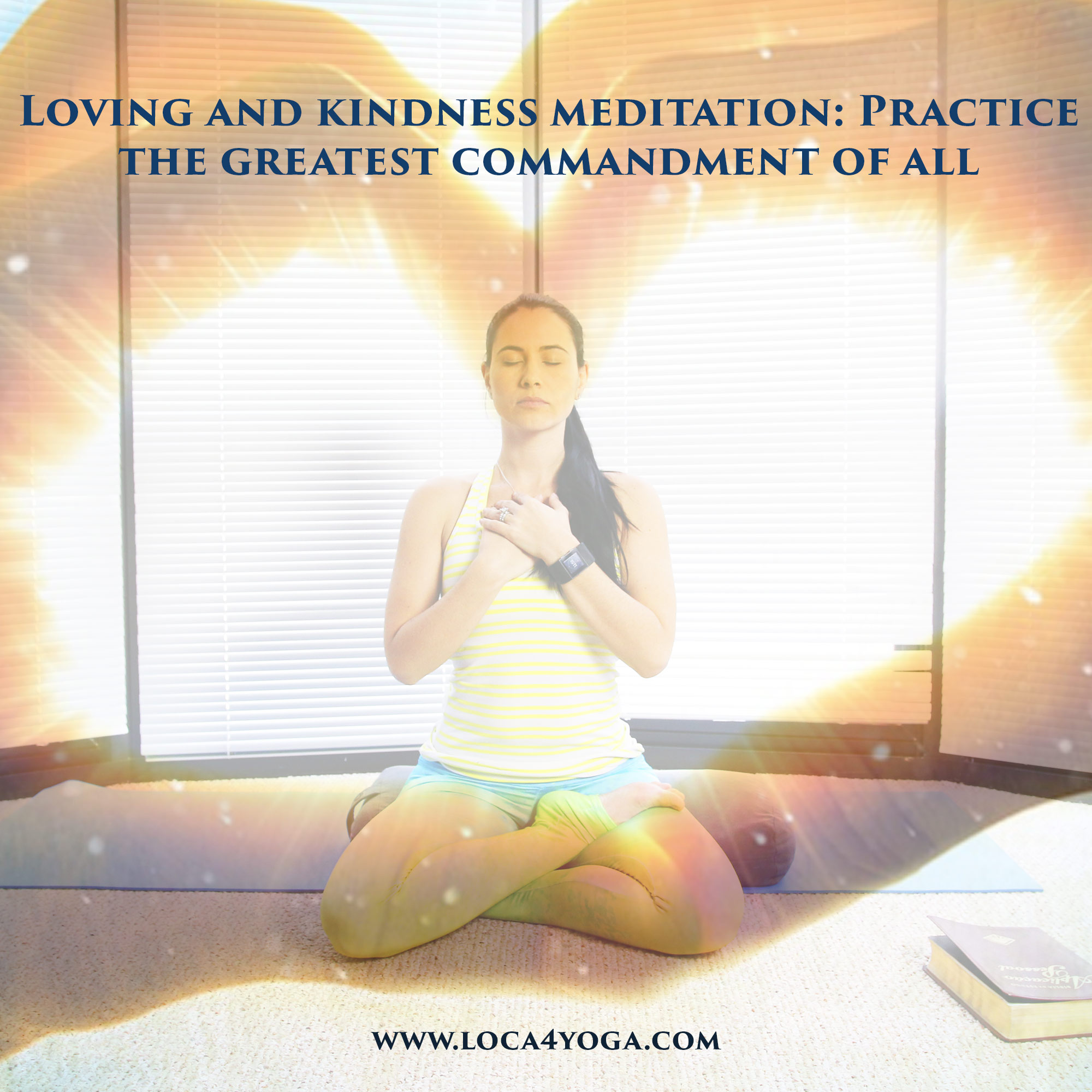 Spend some time in God's love. Practice loving and kindness meditation today!