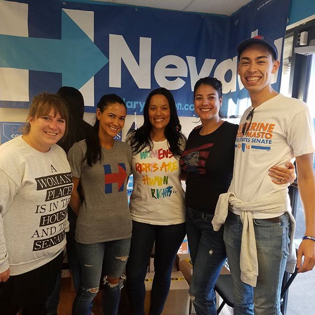 Campaigning for Hillary and Catherine Cortez Mastro in Nevada! #latinasforhillary #imwithher @annavalenci @trinafresco