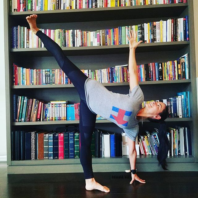 H is for #hillary! #imwithher #election2016 #madampresident #yoga #yogalove #yogiswhovote