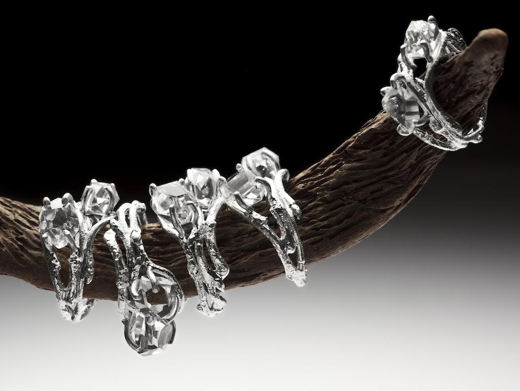 Elvish double Herkimer Diamond rings RedSofa jewellery_5256.jpg