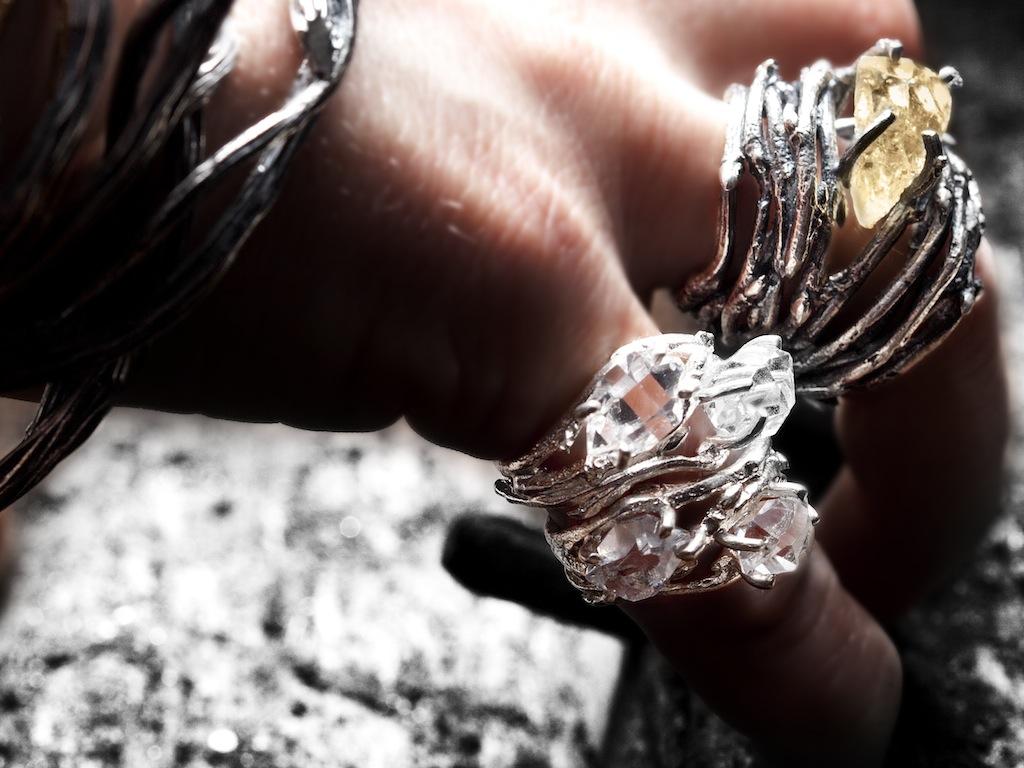 Elvish double Herkimer Diamond rings_5268.jpg