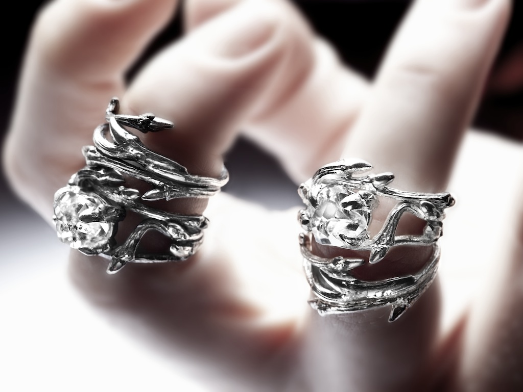Elvish Herkimer Diamond ring RedSofa jewellery_7080.jpg