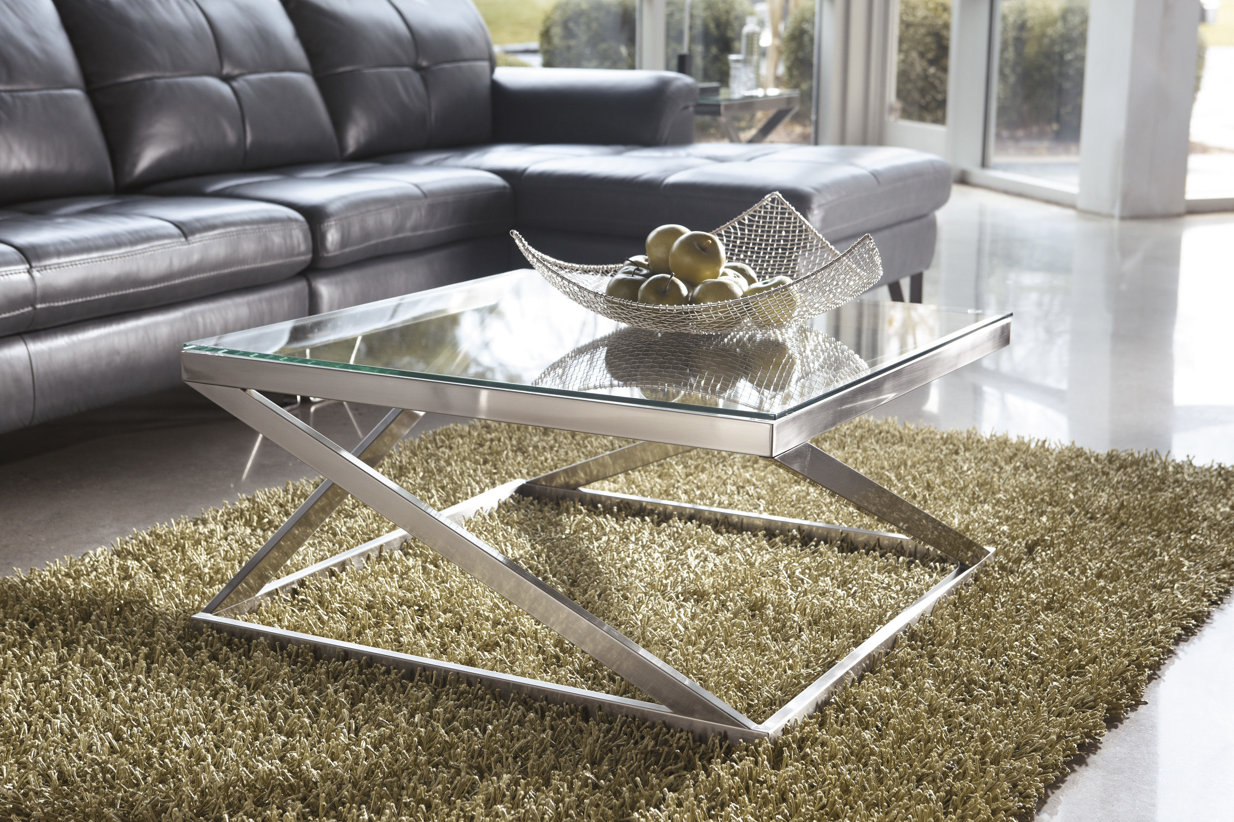 WAREHOUSE PRICE: $199.99 | MONTHLY PAYMENT $4 O.A.C COCKTAIL TABLE