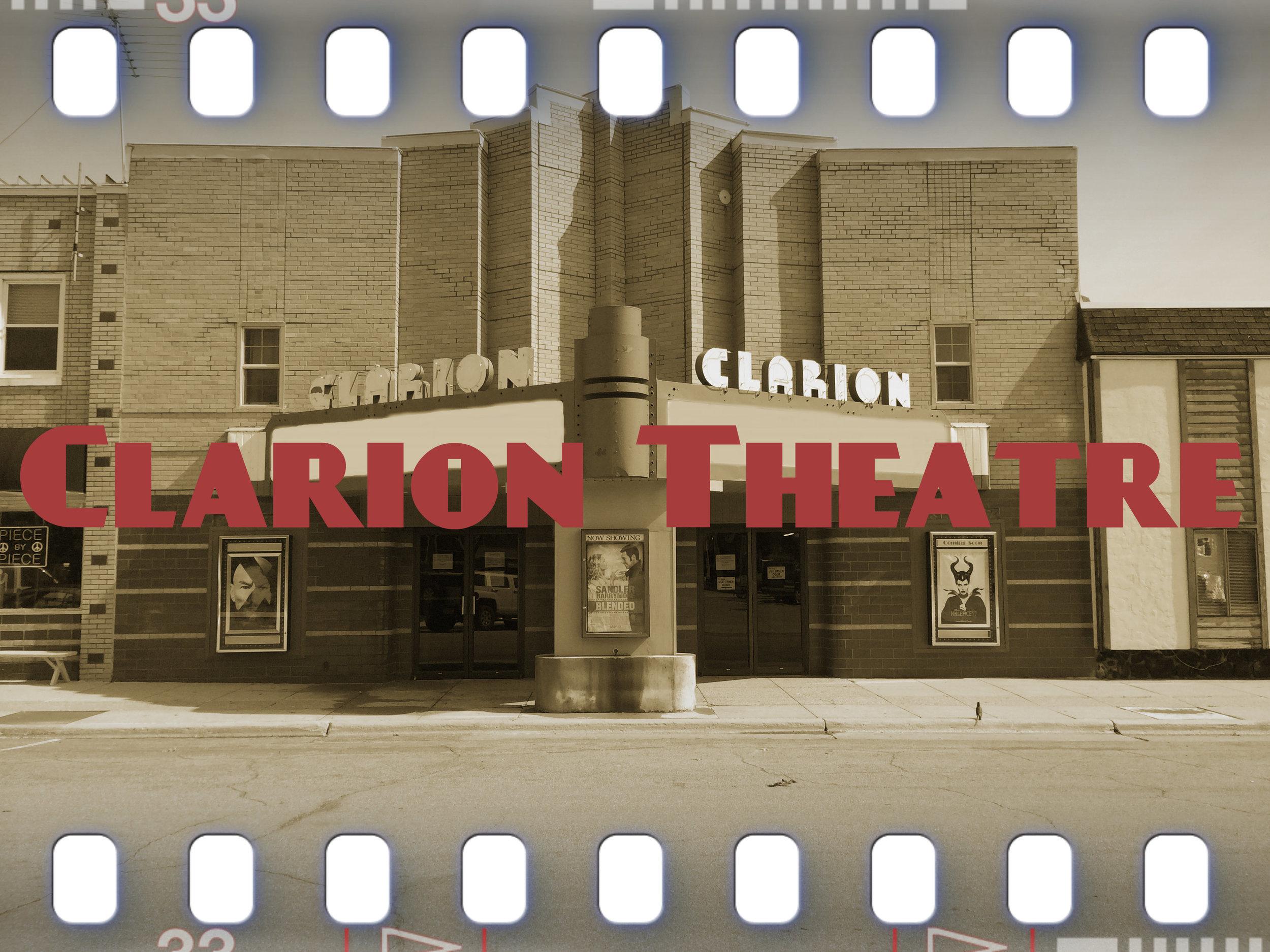 www.clariontheatre.com