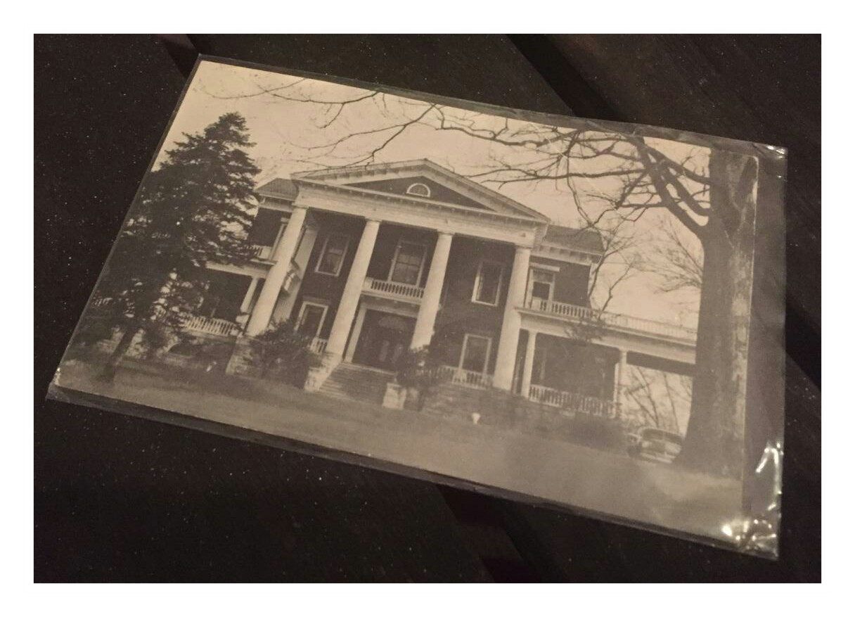 Original postcard from the Kingston Pike Motel