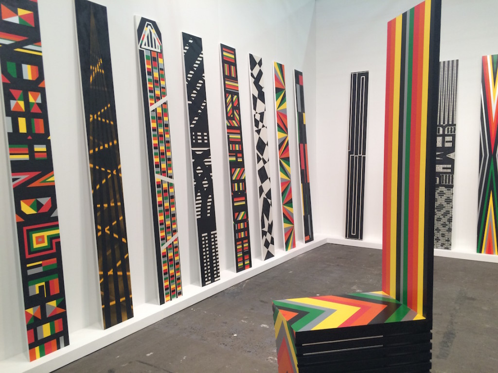 The Armory Art Fair - Rico Gatson at Ronald Feldman Gallery