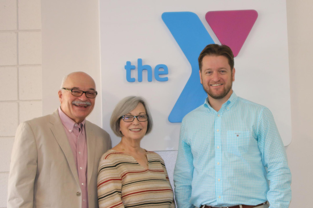 Leading the charge for the Santa Barbara Family YMCA's annual campaign are, from left, co-chairs Tom and Beth Schmid and chair Matt Rowe. (Santa Barbara Family YMCA photo)