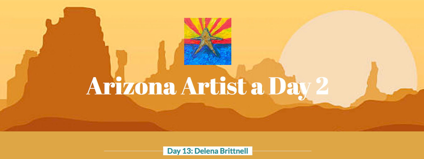 Arizona Artist a Day 2 by Shelley Whiting