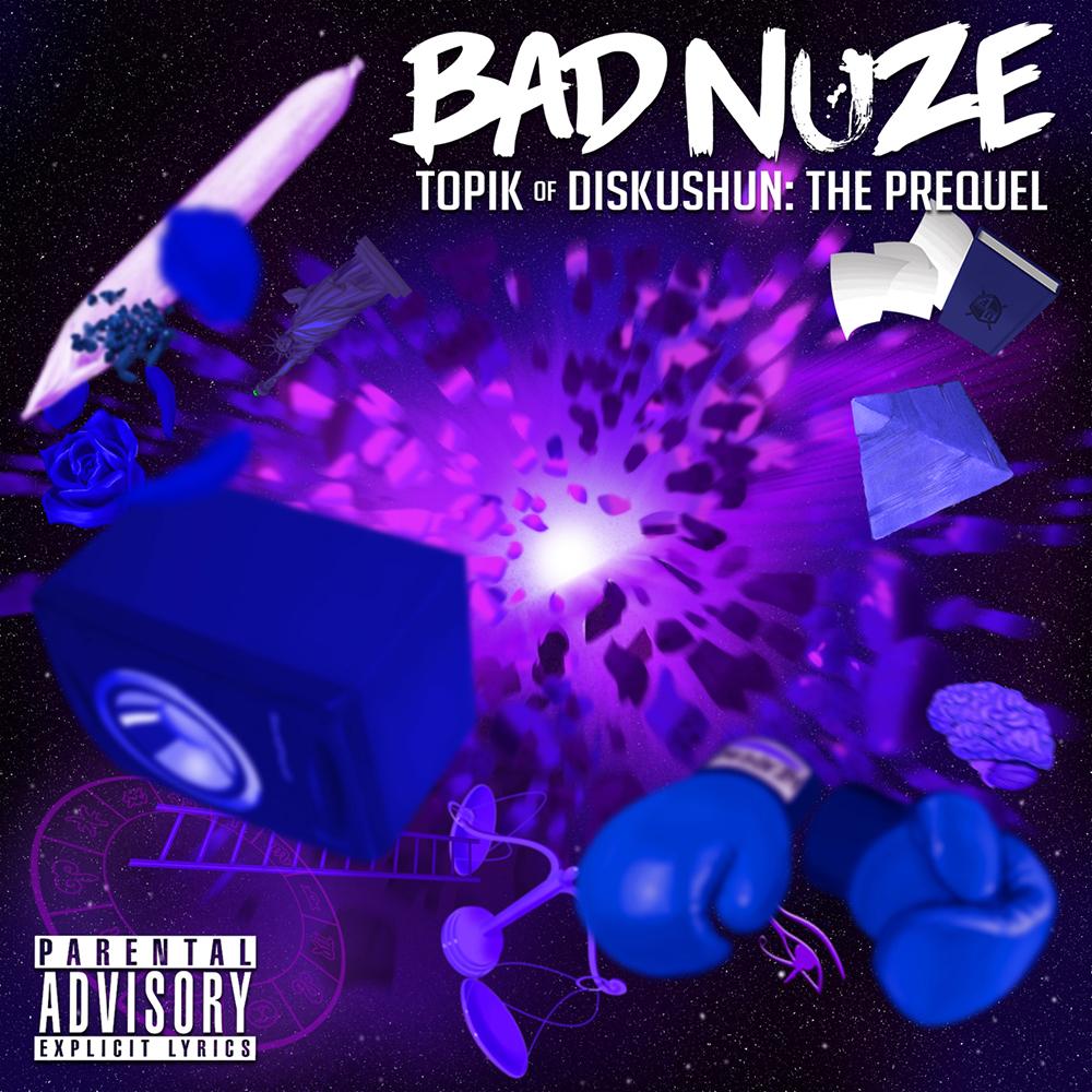 Bad Nuze - 'Topik of Diskushun' Album Cover