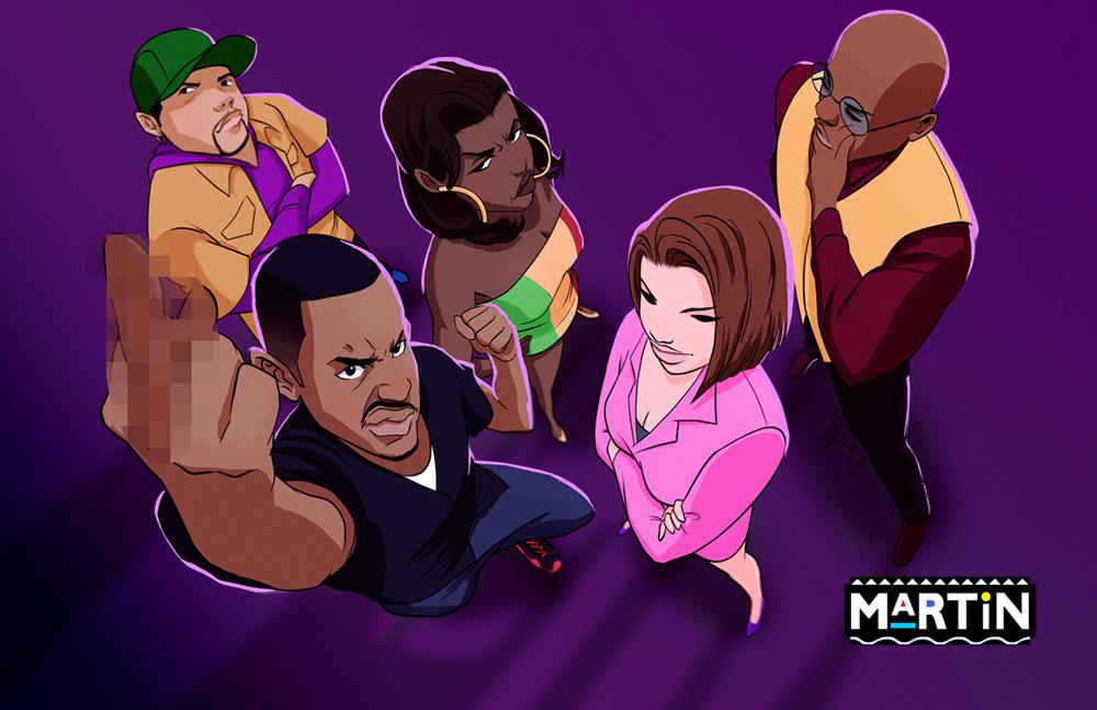Martin TV Show Animated