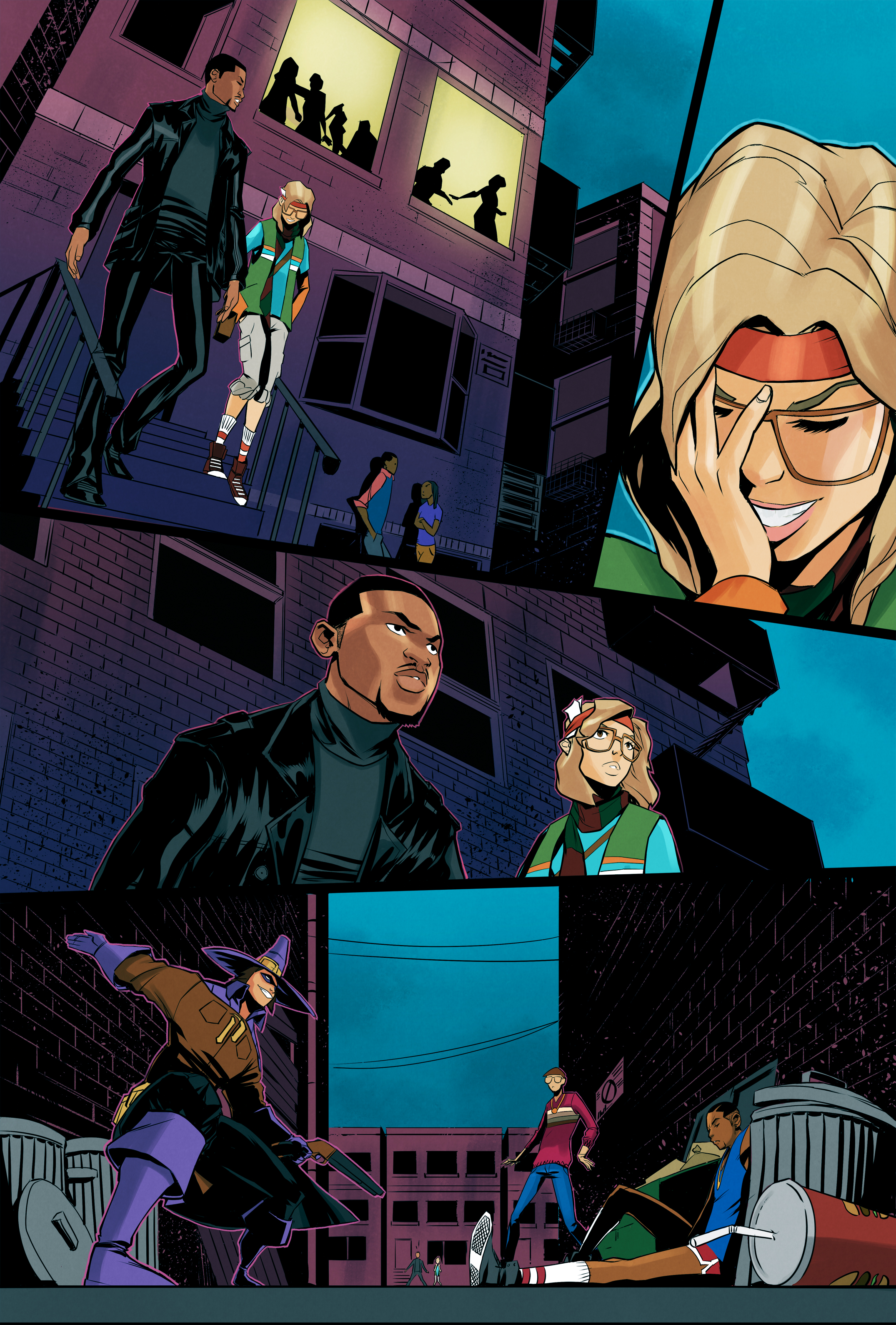 RUN DMC Page 1 (Colors)