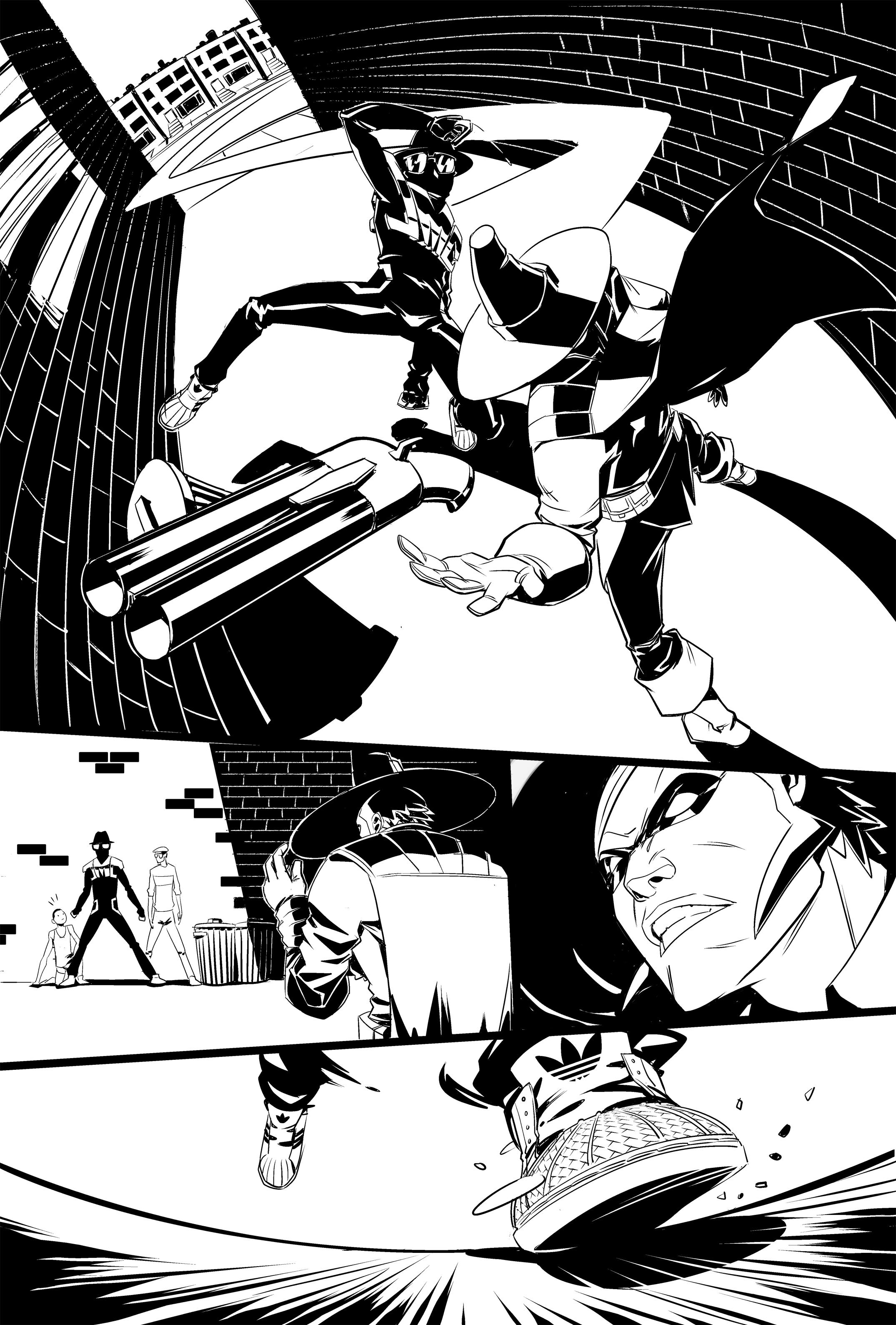 RUN DMC PAGE 3 (LINE ART)