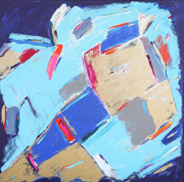 Abstract Imari