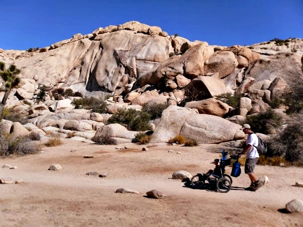 Exploring and camping in Joshua Tree.