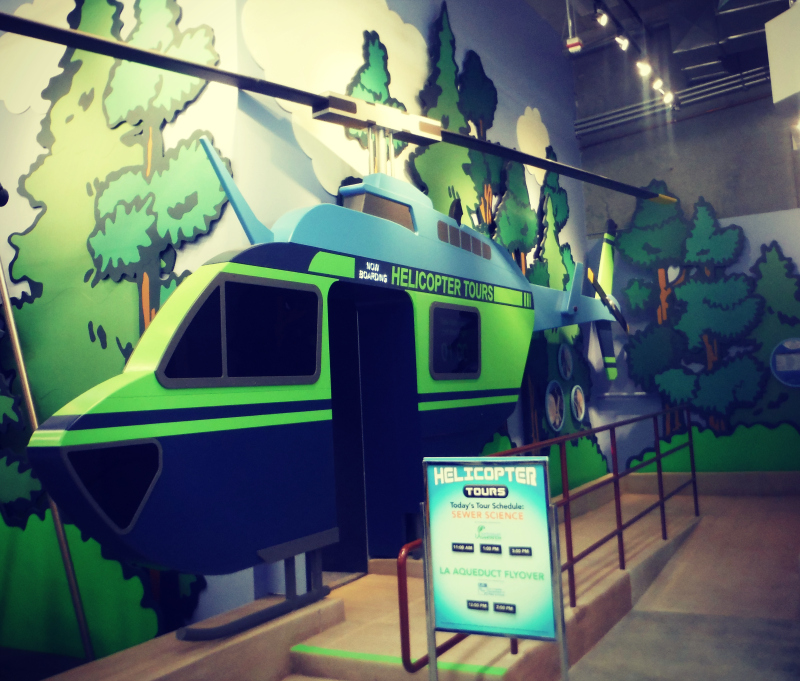 Discovery Science Center LA - Helicopter Tours