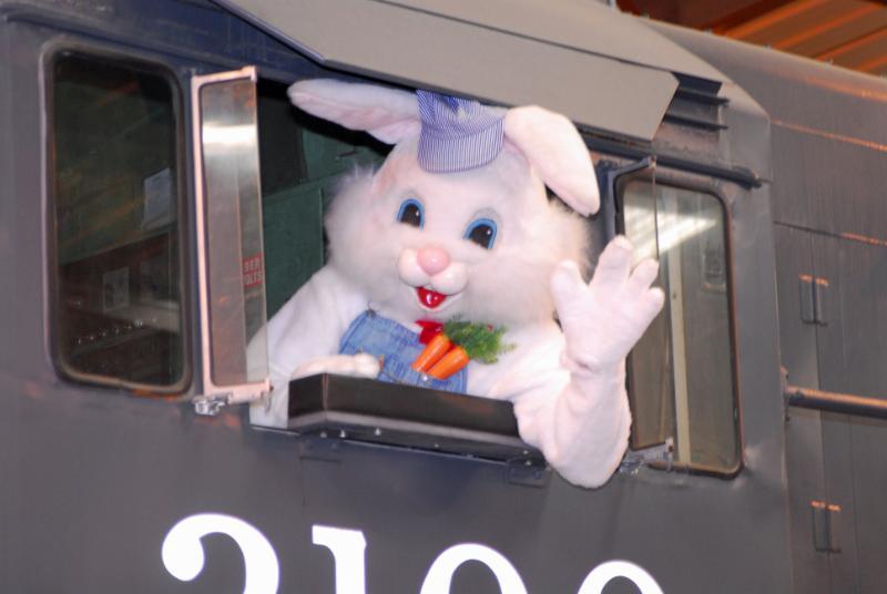 Orange Empire Railway Museum Bunny Train