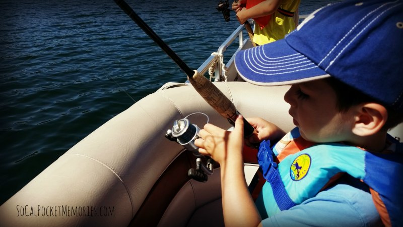 Teach them young to enjoy fishing at Lake Casitas with Ojai Angler.