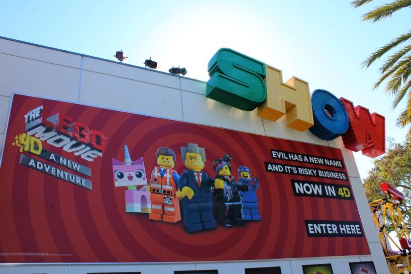 Lego Movie at Legoland