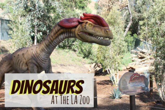 Dinosaurs at LA Zoo
