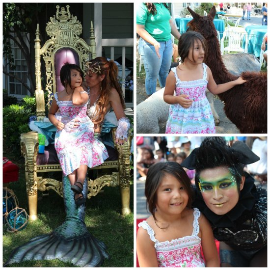 Iridescence: A  Live Mermaid and Eccentric Talent all Family Friendly! A Treat for all the senses! Rock the Goats had something for everyone.