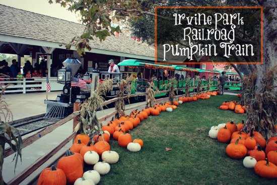 Irvine Park Railroad Pumpkin Patch