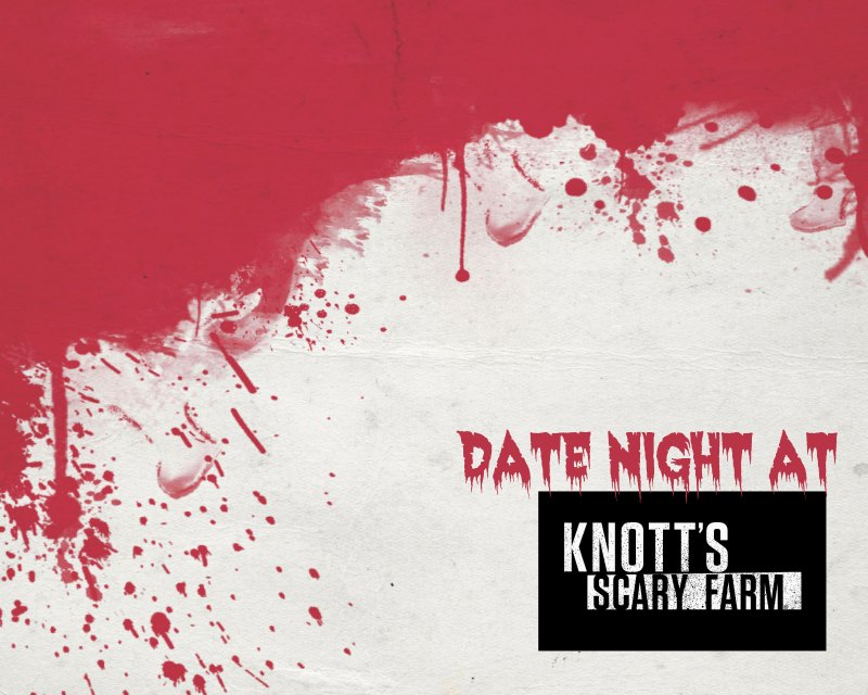 Date Night at Knotts Scary Farm