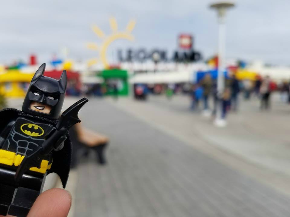 Lego Batman at Legoland