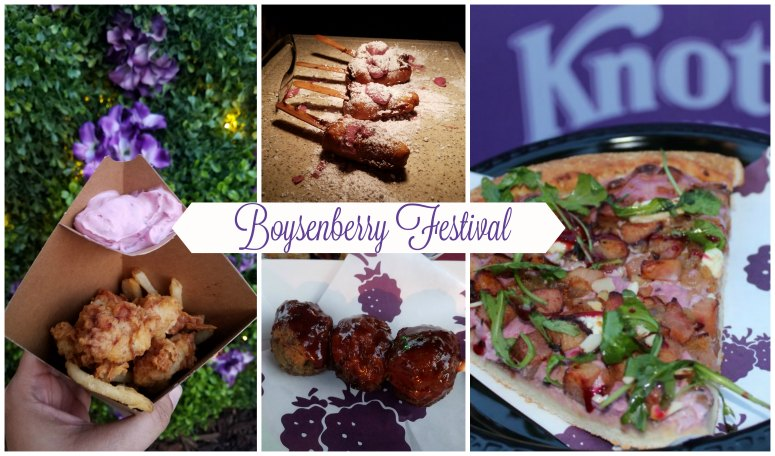 Boysenberry Festival at Knotts