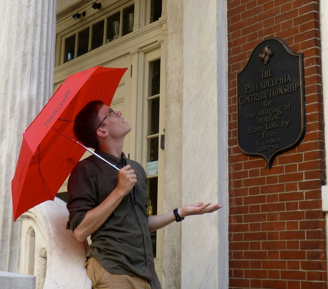Andrew at The Philadelphia Contributionship, the oldest surviving U.S. insurer, founded in part by Benjamin Franklin in 1752.