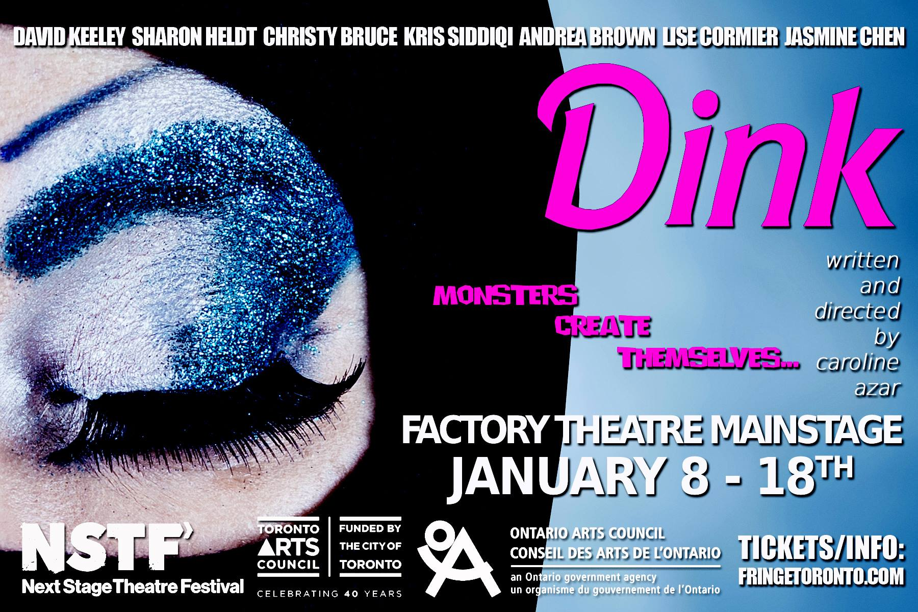 DINK |  Theatre-a-go-go | Role: Bethany