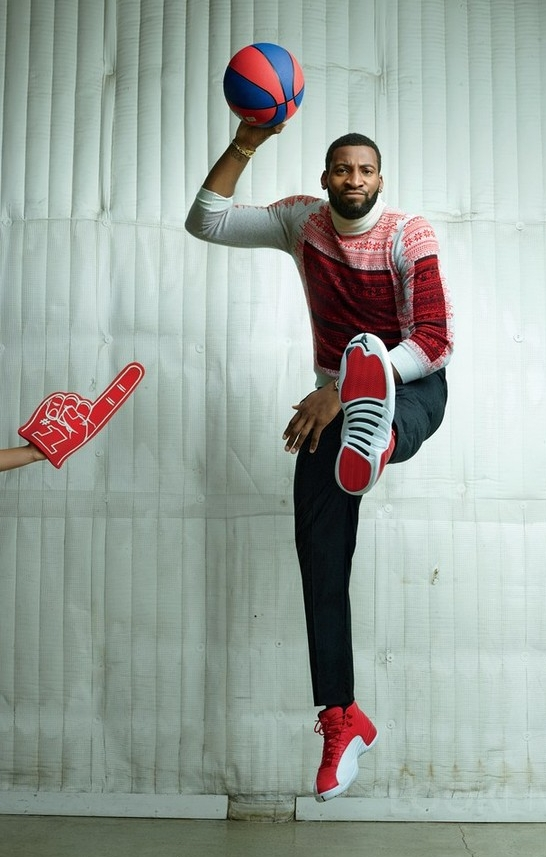 Andre Drummond x GQ