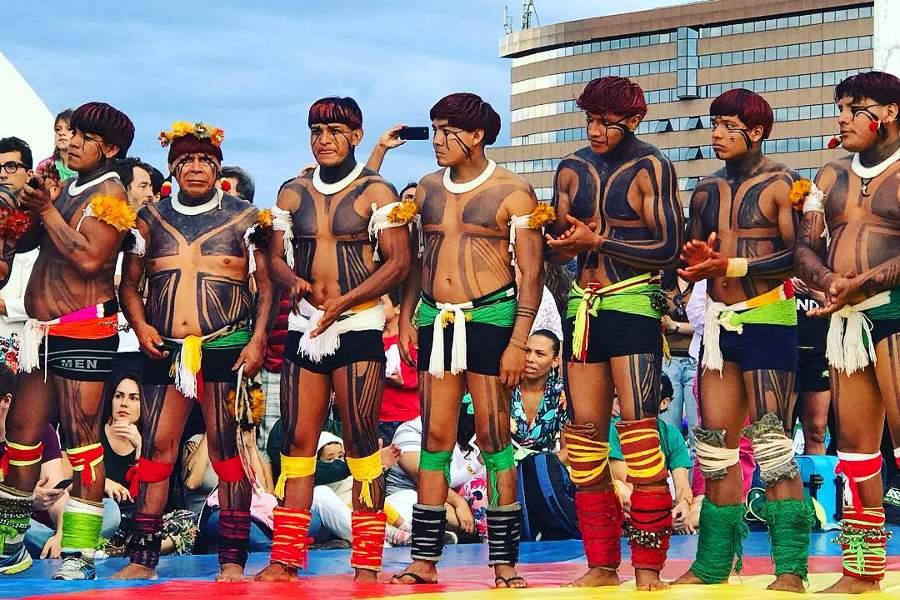 Foto:Brasiliens Nationella Urfolksrörelse (MNI).