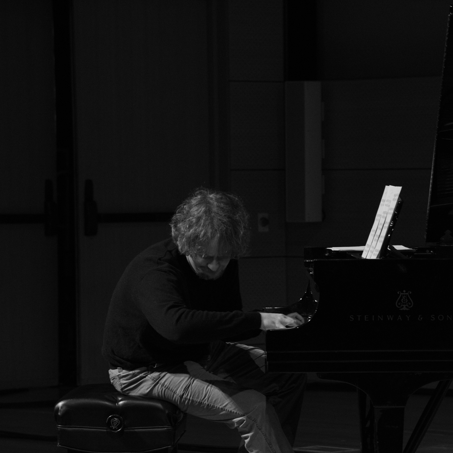 Matt Mitchell performing at New School Tishman Auditorium - ECM Records Stage, January 16.