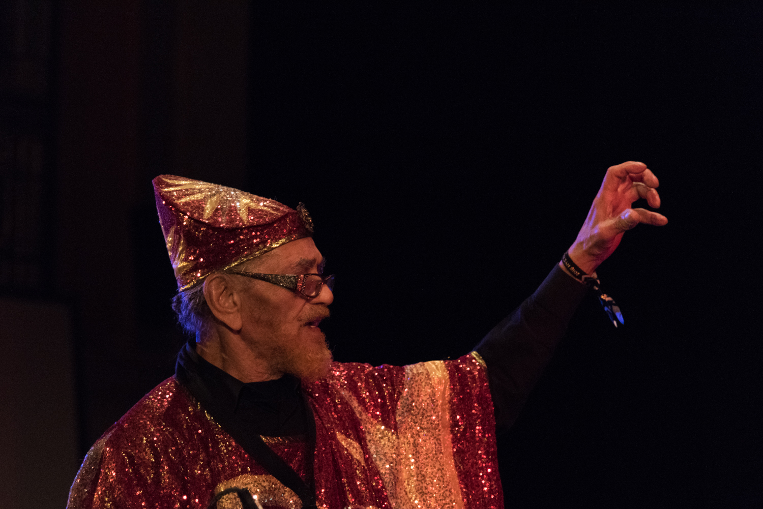 Sun Ra Arkestra - Marshall Allen performing at Judson Church, January 16.
